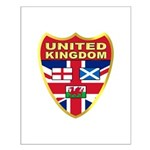 UK Badge Small Poster