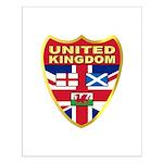 UK Badge Small Poster