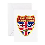 UK Badge Greeting Cards (Pk of 20)