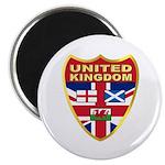 UK Badge Magnet