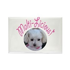 Malti-Licious Rectangle Magnet