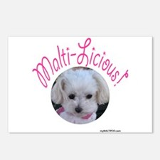 Malti-Licious Postcards (Package of 8)