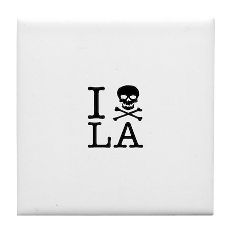 "The ""I Hate LA"" series Tile Coaster"