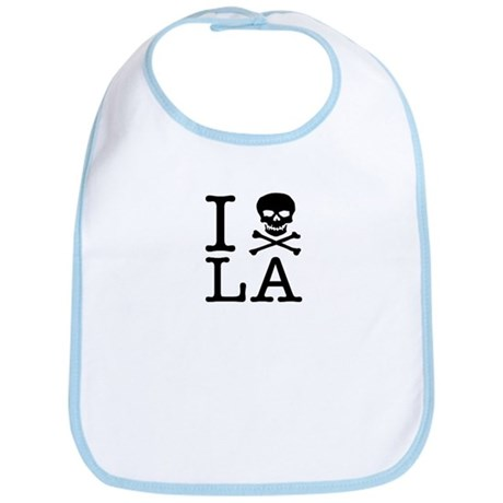 "The ""I Hate LA"" series Bib"
