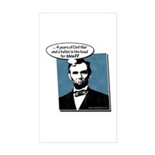 Abe Lincoln... Decal