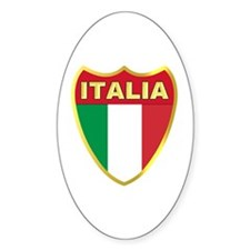Italy Badge Decal