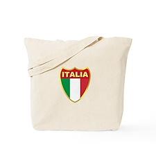 Italy Badge Tote Bag