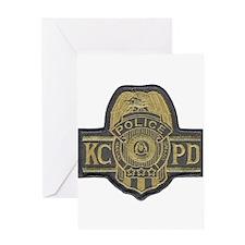 K.C.P.D. Greeting Card