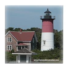 Nauset Lighthouse Tile Coaster