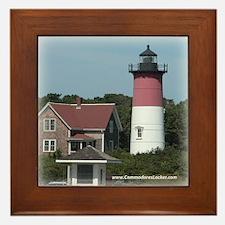 Nauset Lighthouse Framed Tile