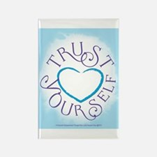 Trust Yourself Rectangle Magnet