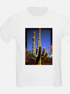 Saguaro against Blue Sky T-Shirt