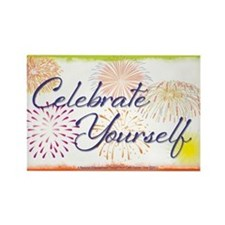 Celebrate Yourself Rectangle Magnet (10 pack)