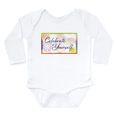 Celebrate Yourself Long Sleeve Infant Bodysuit