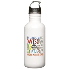 DWTS Fan Water Bottle