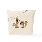 Nut Thief Tote Bag