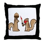 Nut Thief Throw Pillow