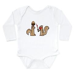 Nut Thief Long Sleeve Infant Bodysuit