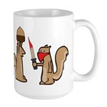 Nut Thief Large Mug
