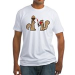 Nut Thief Fitted T-Shirt