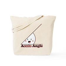 Acute Angle Tote Bag