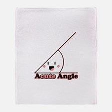 Acute Angle Throw Blanket
