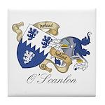 O'Scanlon Family Sept Tile Coaster