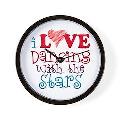 I Love Dancing wtih the Stars Wall Clock