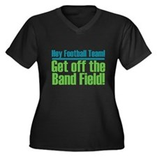 Marching Band Field Women's Plus Size V-Neck Dark