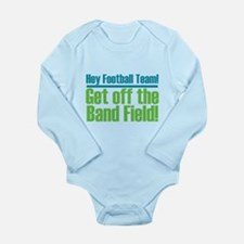 Marching Band Field Long Sleeve Infant Bodysuit