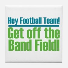 Marching Band Field Tile Coaster