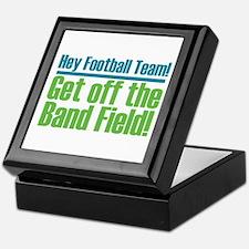 Marching Band Field Keepsake Box