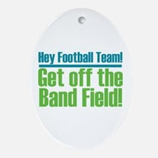 Marching Band Field Ornament (Oval)