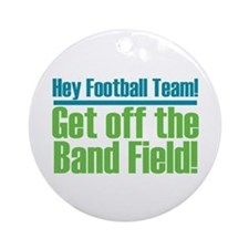 Marching Band Field Ornament (Round)