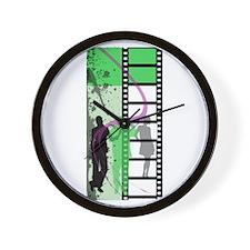 Movie Maker Wall Clock