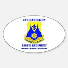 DUI - 2nd Bn - 356th Regt (LSB) with Text Decal