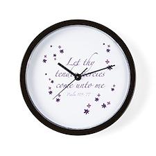 Tender Mercies Wall Clock