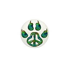 Paw Peace Mini Button