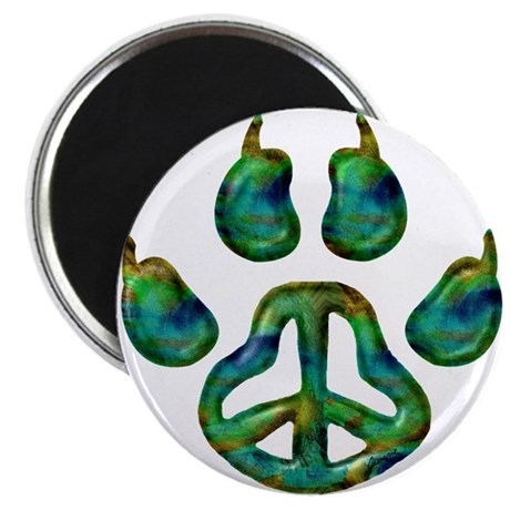 """Paw Peace 2.25"""" Magnet (100 pack)"""