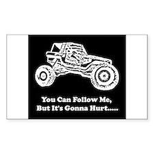 Follow Me Decal