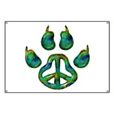 Paw Peace Banner