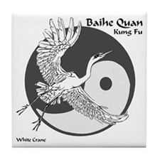 Baihe Quan Logo Tile Coaster