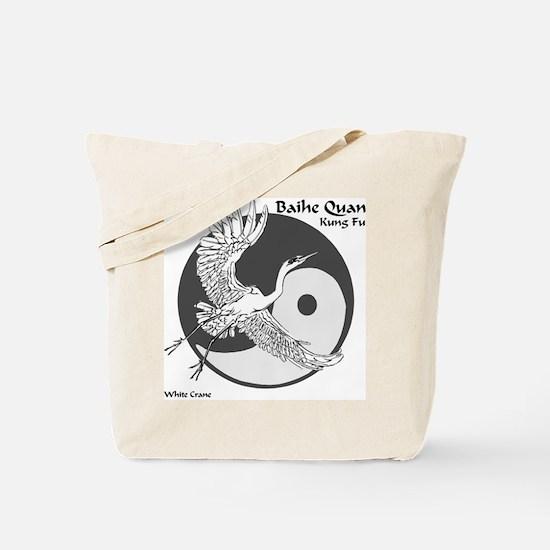 Baihe Quan Logo Tote Bag