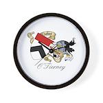 O'Tierney Family Sept Wall Clock