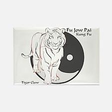 Fu Jow Pai Logo Rectangle Magnet