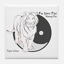 Fu Jow Pai Logo Tile Coaster