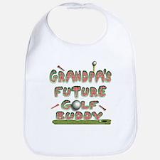 Grandpa's Future golf buddy Bib