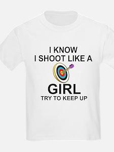 SHOOT LIKE A GIRL - ARCHERY T-Shirt