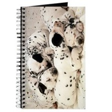 DALMATION PUPPY PILE Journal