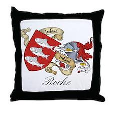 Roche Family Sept Throw Pillow